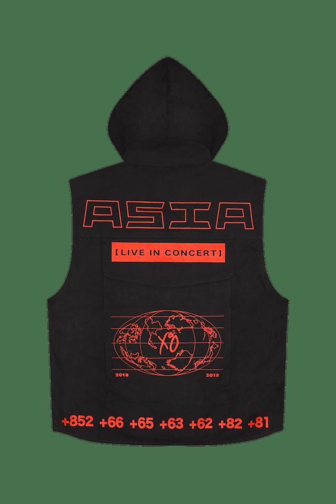xo ranger vest front hood