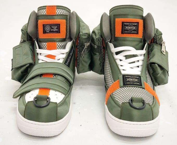 Porter x Takashi Murakami Sneaker (Front)