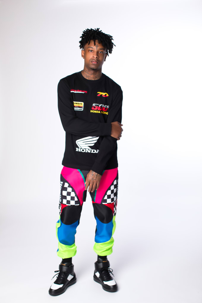 F21xHonda Drops Collab with 21 Savage
