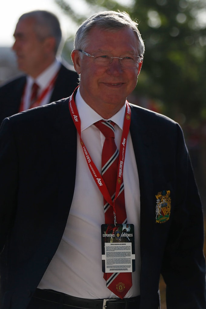 Sir Alex Ferguson Manchester United soccer