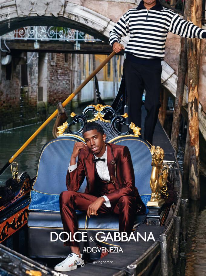 King Combs Dolce Gabana