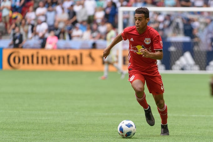 Tyler Adams MLS Red Bulls August 2018