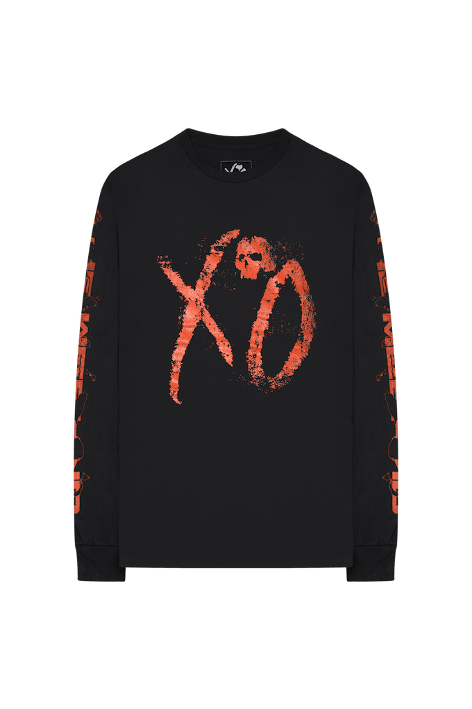 the weeknd asia longsleeve front