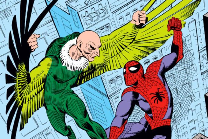 Vulture vs. Spider-Man