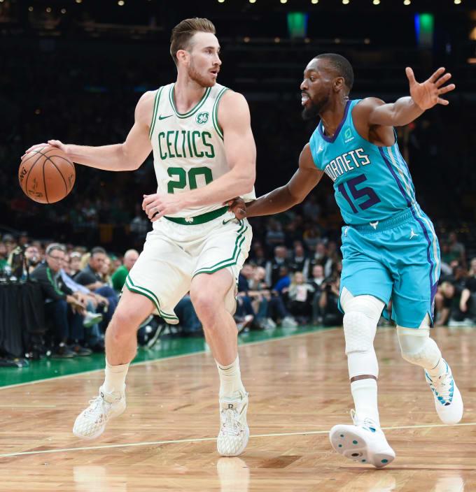Gordon Hayward Celtics Hornets Preseason 2018