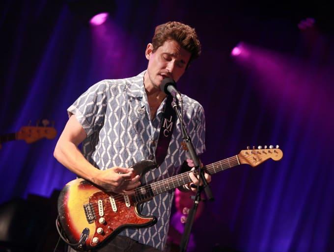 John Mayer in Visvim shirt