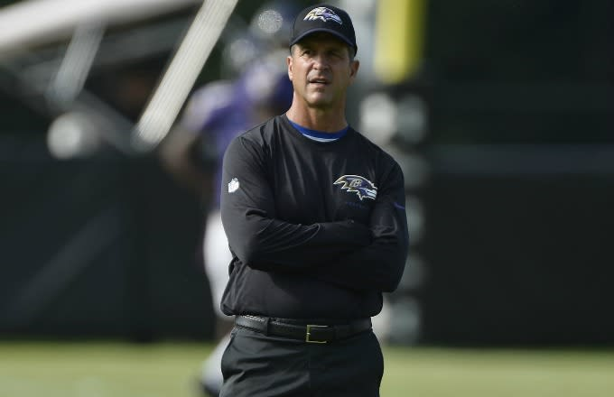 John Harbaugh.