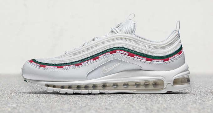 c233c2011 White Undefeated Nike Air Max 97 Profile