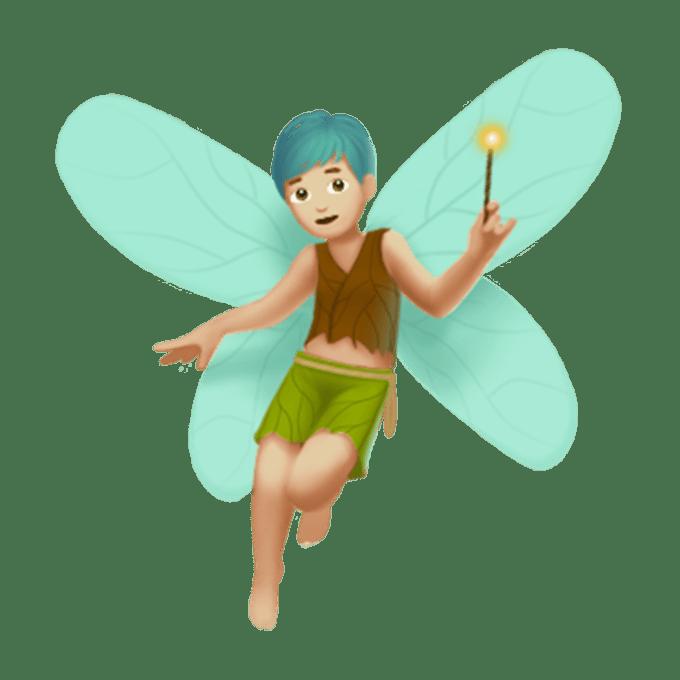 Fairy emoji