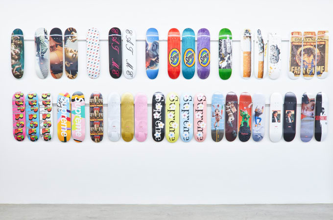 Supreme Decks at Sotheby's (Dash Snow)