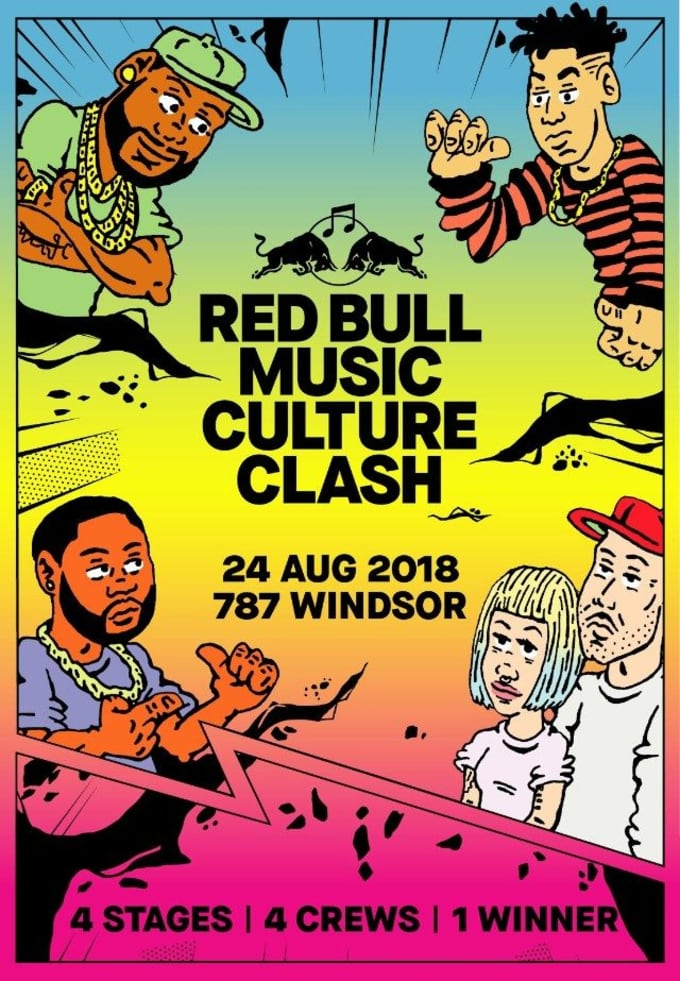 Red Bull Culture Clash 2018