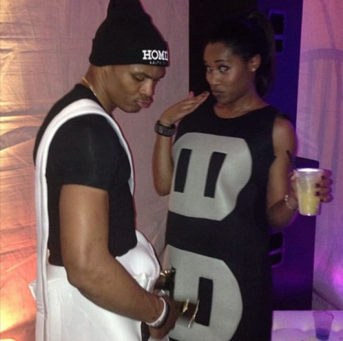 Russell Westbrook's 2013 Halloween costume.