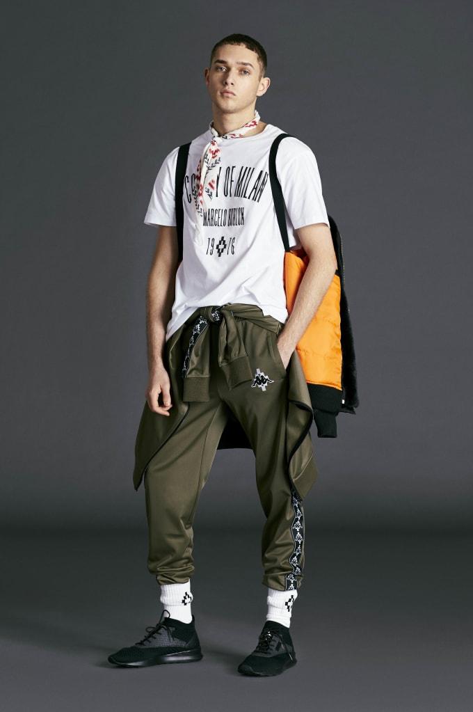 Kappa Marcelo Burlon Lookbook Boy