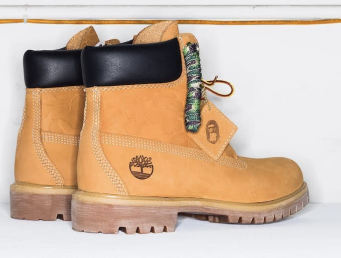 Undefeated x Bape x Timberland 6 Boot 5