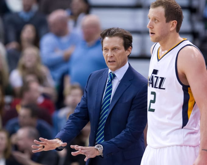 Quin Snyder Joe Ingles Jazz 2017
