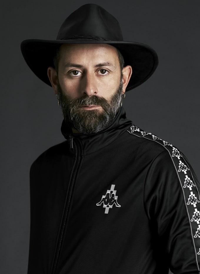 Headshot of Marcelo Burlon for Kappa
