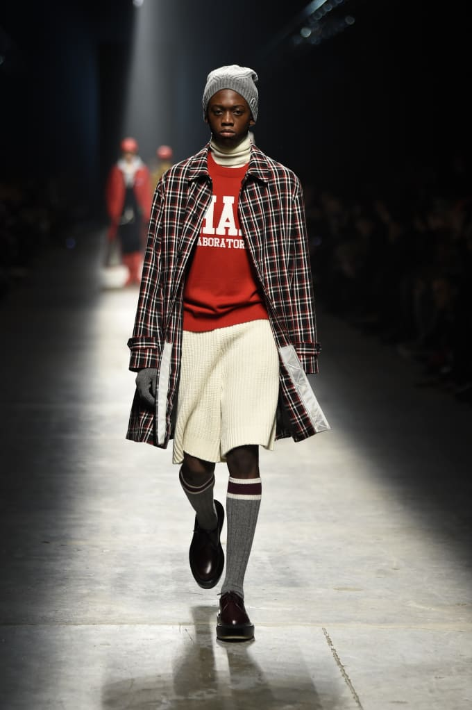 Undercover Fall/Winter 2018 fashion show at Pitti Uomo