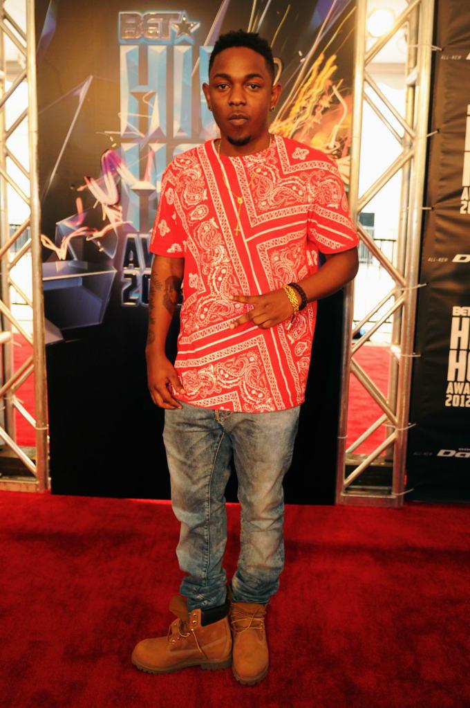Kendrick Lamar Rhude Bandana tee