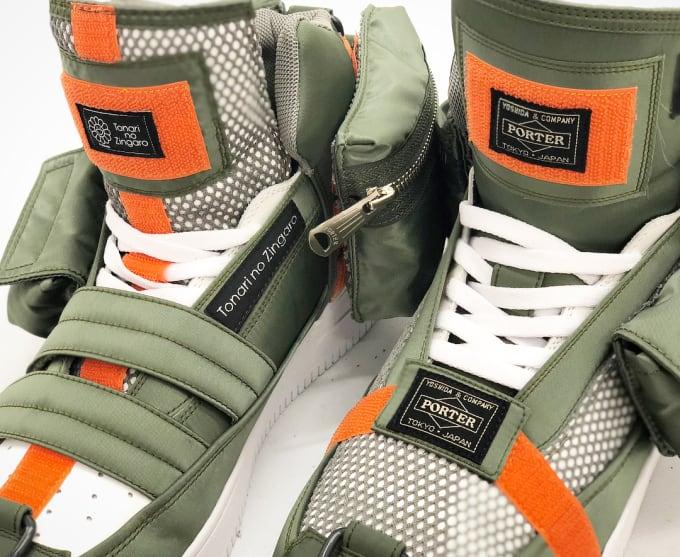 Porter x Takashi Murakami Sneaker (Tongue)