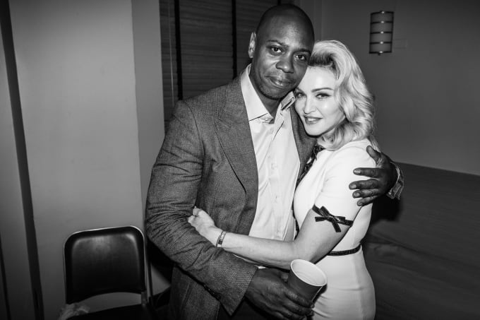 Dave Chappelle and Madonna at Radio City Music Hall