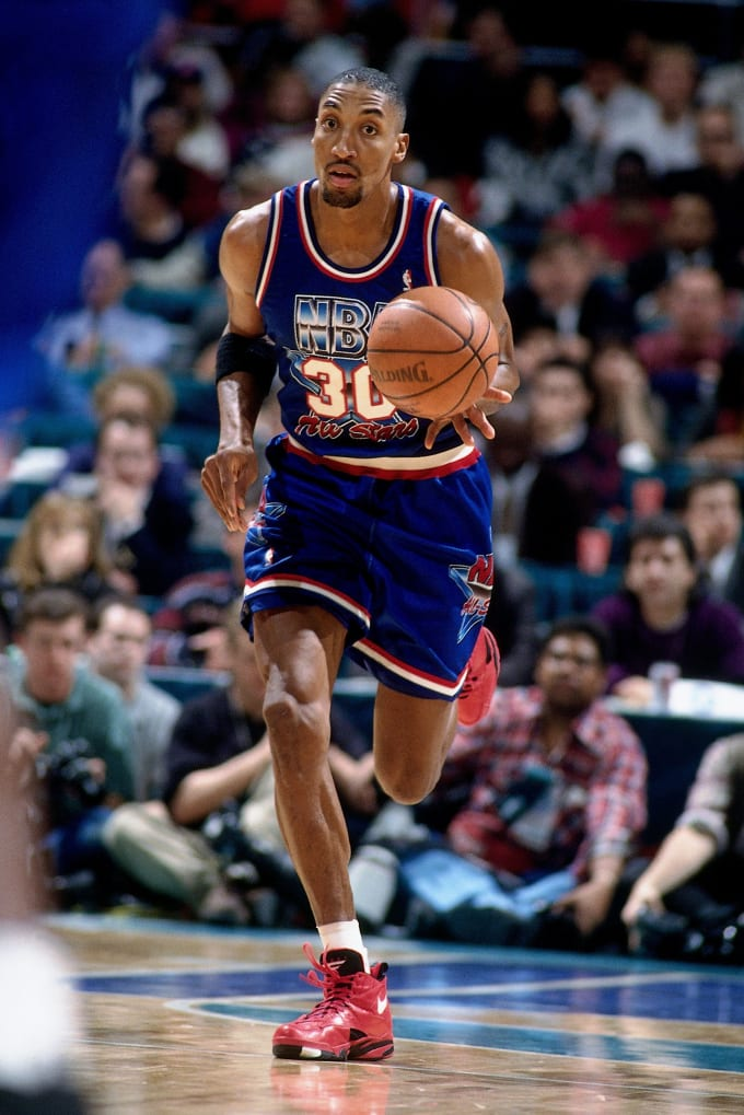 Scottie Pippen in the 1994 All-Star Game