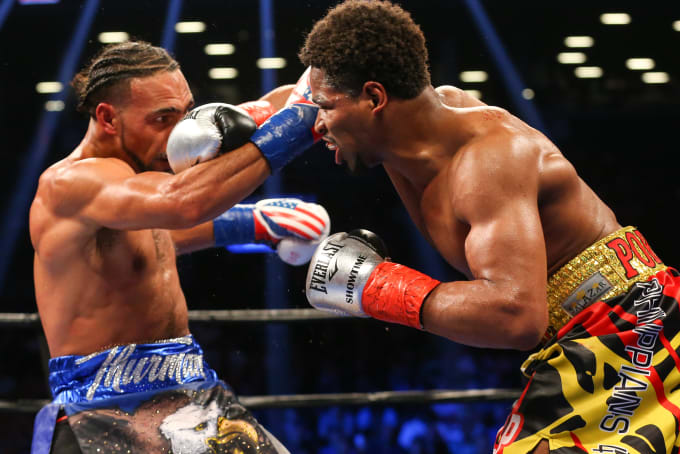 Shawn Porter Keith Thurman 2016 Barclays Center