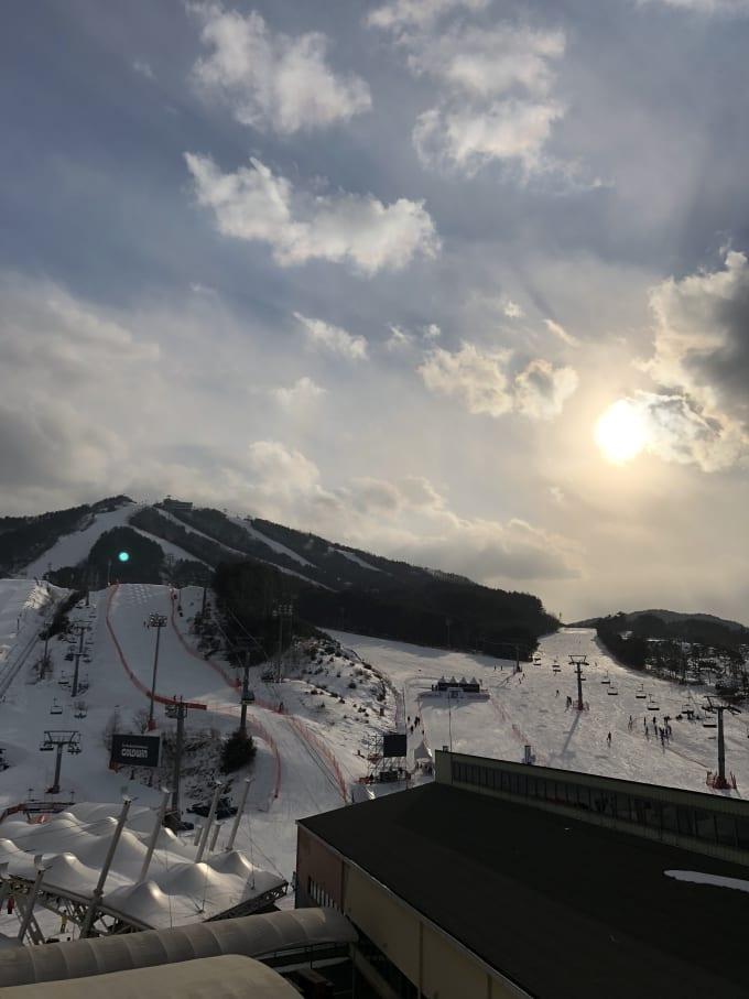 South Korea Mountaintop