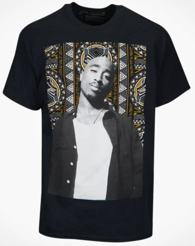 7790f7162327 2Pac Estate Connects With Marvel for  Black Panther  Collab ...