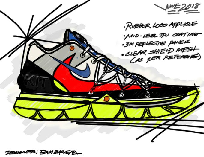 Rokit x Nike Kyrie 5 Sketch