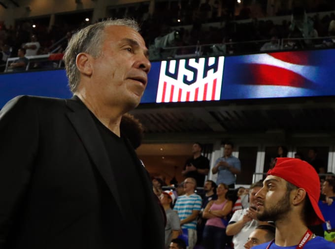 Bruce Arena US Mens National Team 2017
