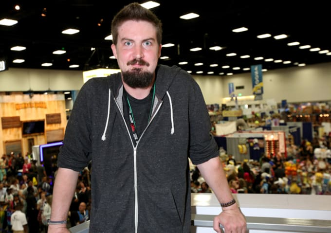Adam Wingard at Comic-Con International 2015
