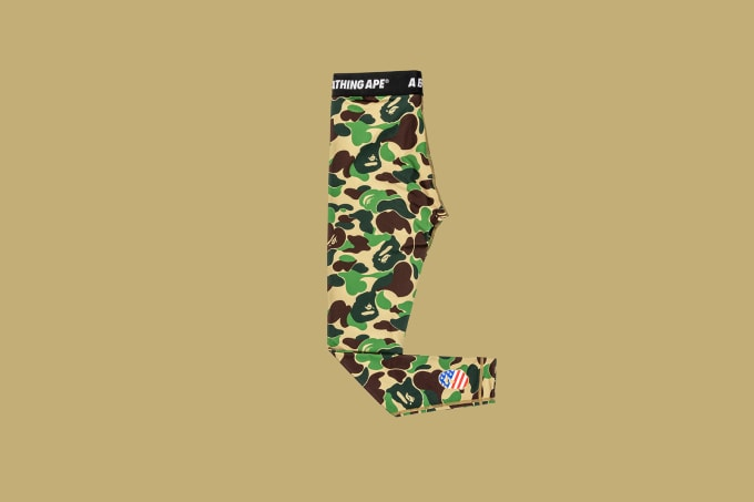 Adidas Football by Bape Tights 'Green'