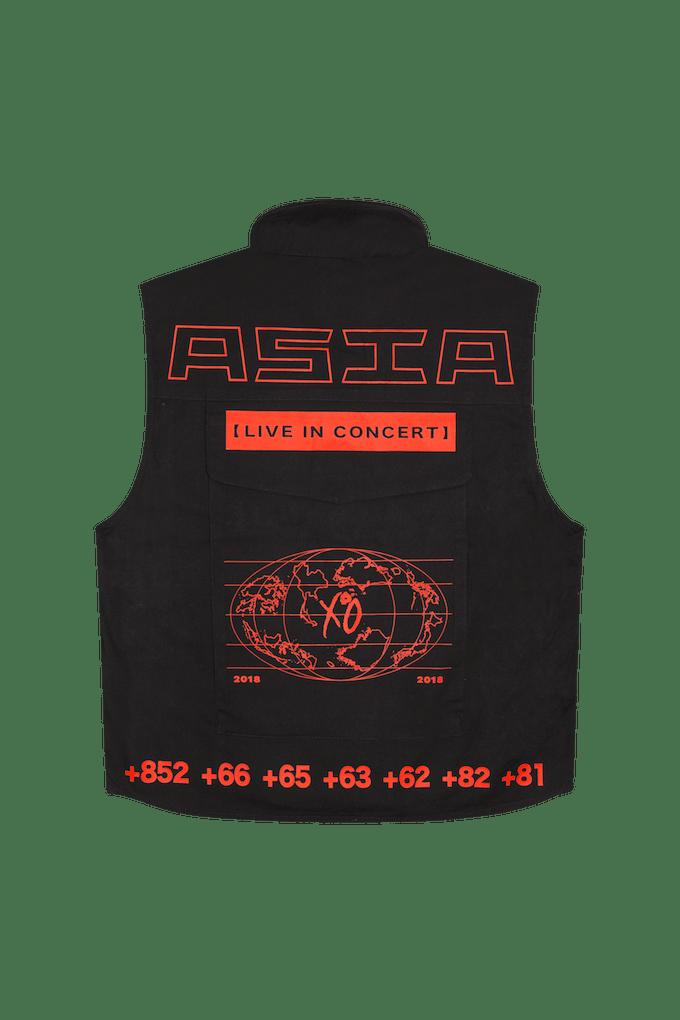xo ranger vest back no hood