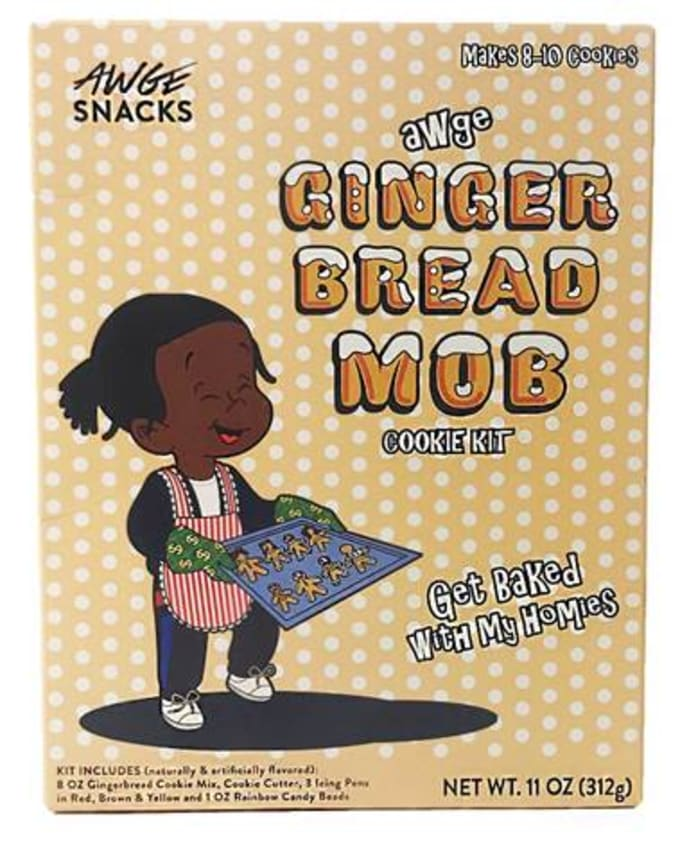 "A$AP Rocky Selling ""Ginger Bread Mob"" Cookie Kit"