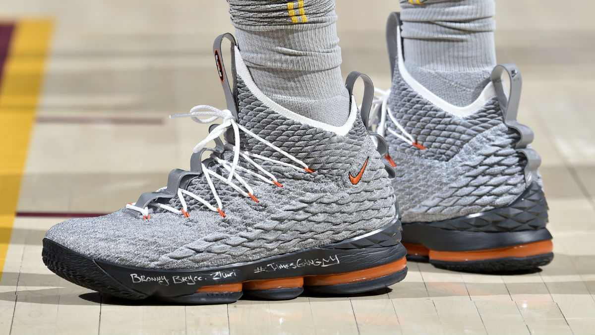 best service 71854 73ca0 LeBron James Debuts a Second  Air Max 95  Nike LeBron 15