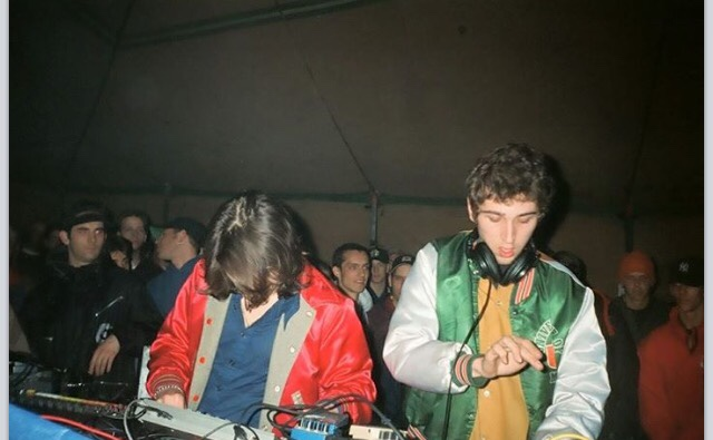 Daft Punk at Even Furthr in 1996