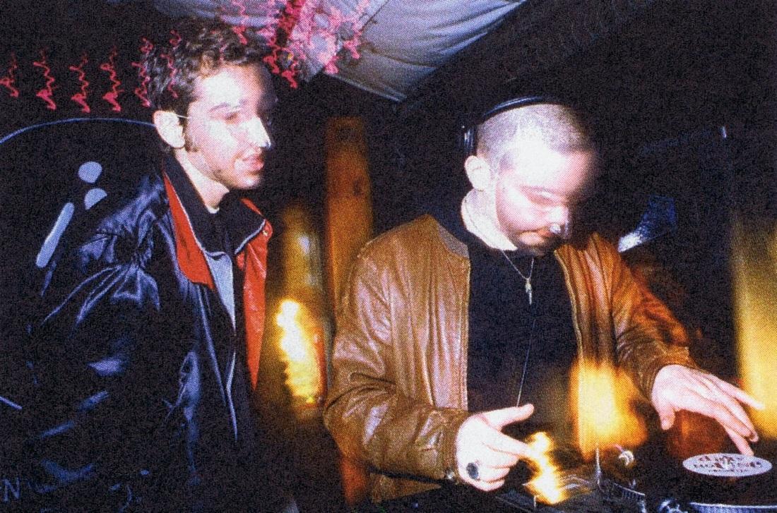At Funky Tekno Tribe in 1998