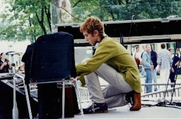 Thomas Bangalter at Global Tekno, 1995