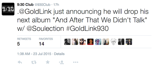 goldlink announcement