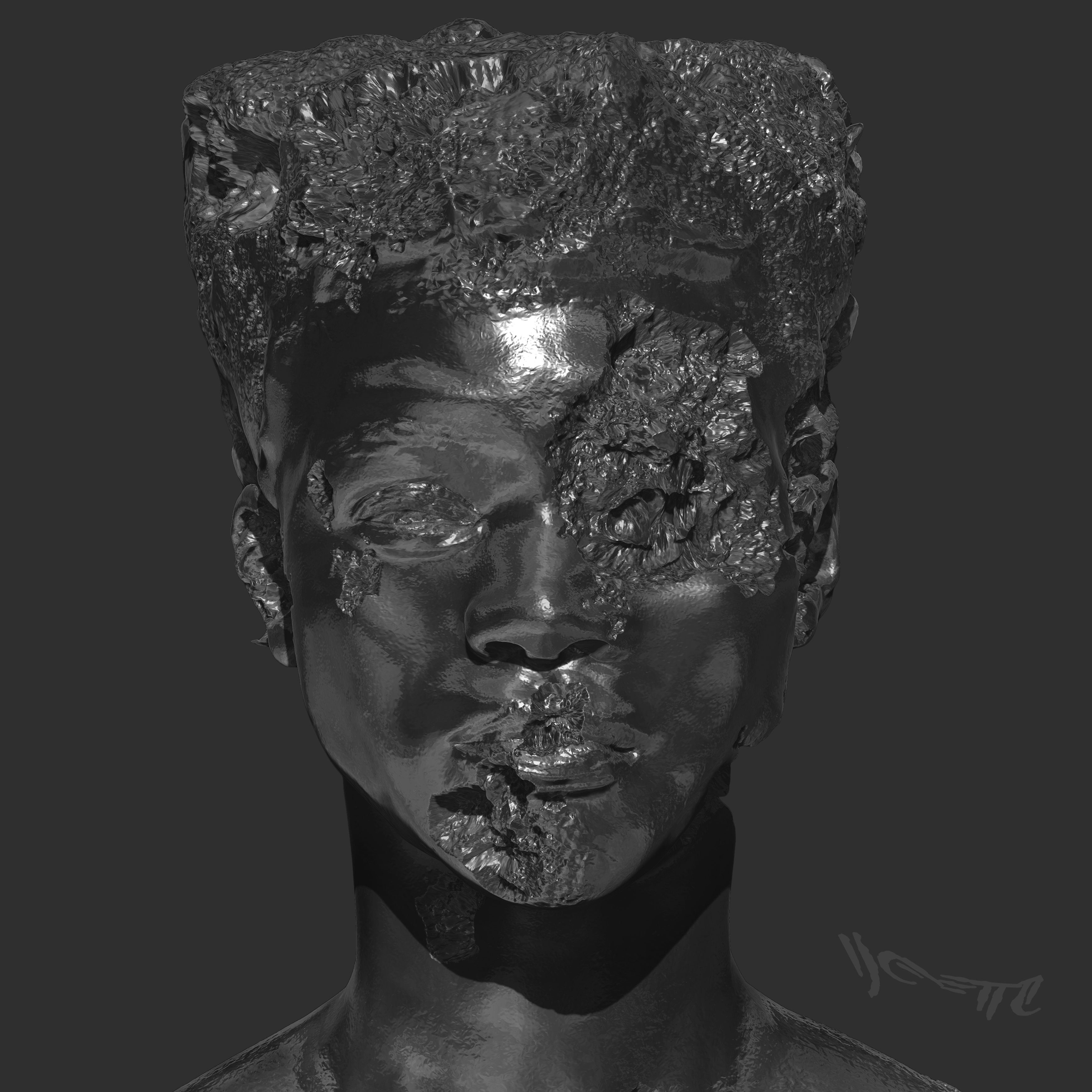 YOUNG (Main Cover Art Front)