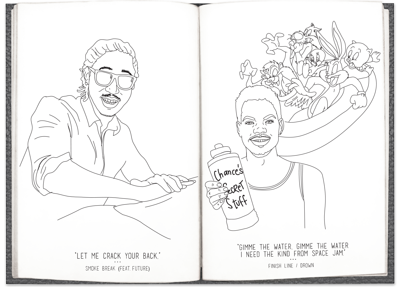 Coloring book download link chance the rapper - Page6