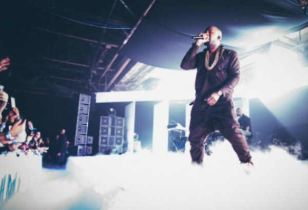 kanye west live feat