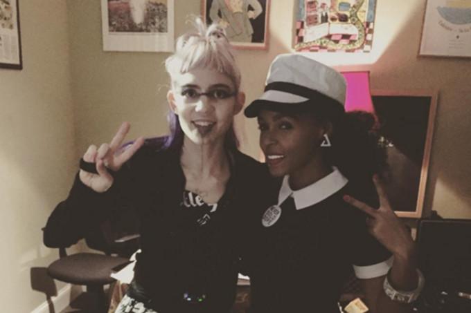 Image via Grimes on Instagram