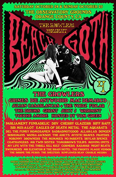 BEACH GOTH 4 Poster