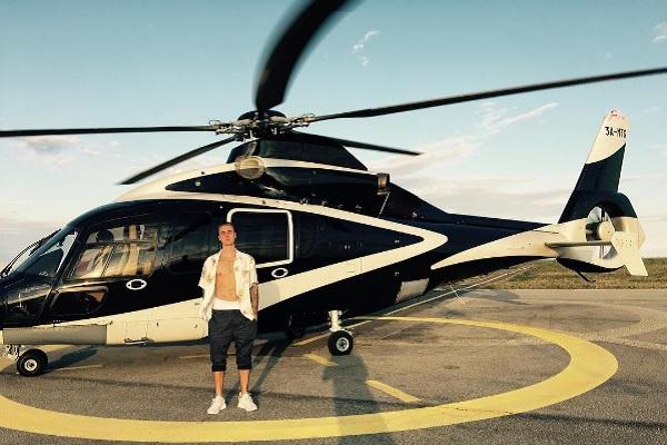 Image via Justin Bieber's Instagram