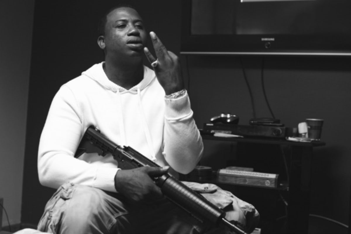 A Gucci Mane Photo Exhibit Held In A Trap House Will Open This Week |  PigeonsandPlanes