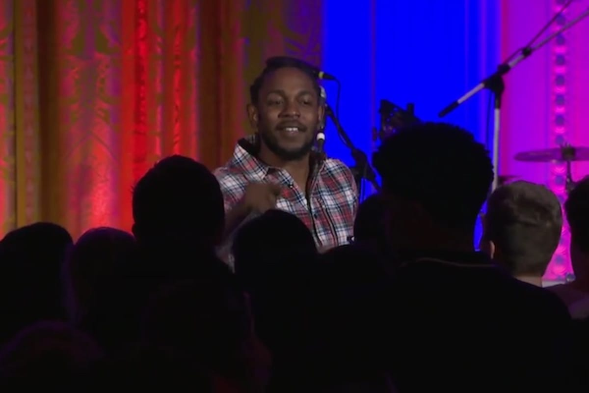 Watch Kendrick Lamar and Janelle Monáe Perform Live At The White House