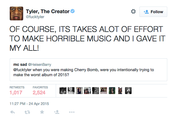 In Case You Havenu0027t Been Paying Attention, Here Are Some Of The Reasons  Tyler Is Worth A Follow On Twitter: