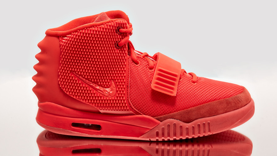 'Red October' Nike Air Yeezy 2s Releasing on Goat
