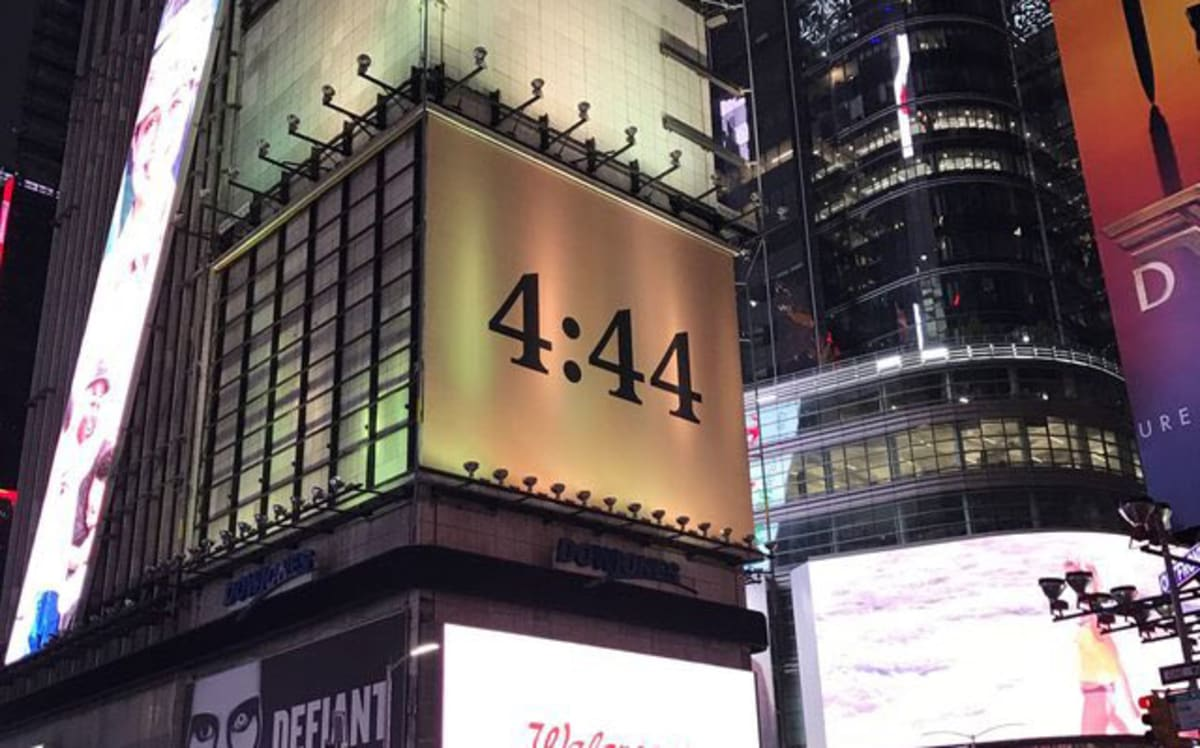 Image result for 4:44 billboard ads